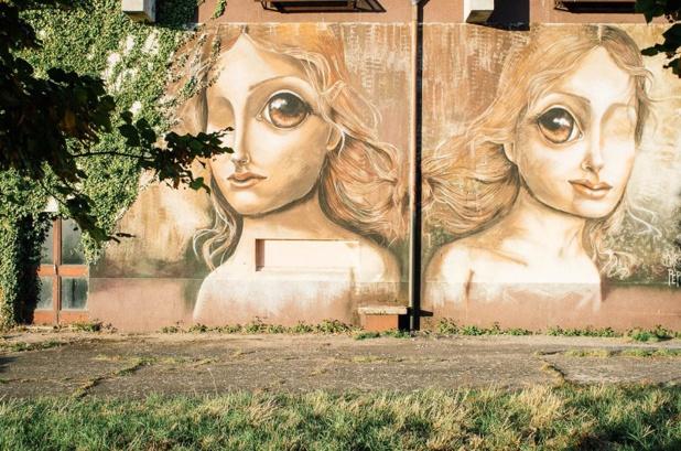 Les street artistes viennent des quatre coins du monde couvrir les murs de graffitis et de fresques - DR : Mathieu Mouillet