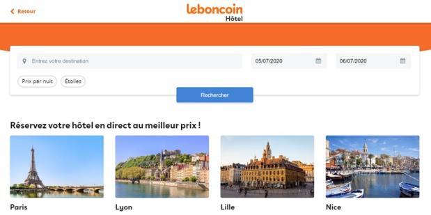 leboncoin ne touchera pas de commission lors des réservations faites sur son site - DR
