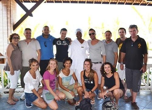 Ils étaient 13 professionnels à participer à l'eductour d'Héliades au Brésil, du 23 au 28 septembre 2012 - Photo DR