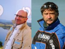 Stéphane Gros et Xavier Stordeur, de Doubs Tourisme - DR : CDT du Doubs