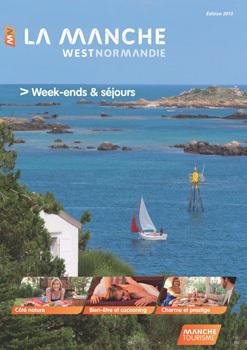 La nouvelle brochure week-ends et courts séjours de Manche Tourisme présente plusieurs nouveautés - DR