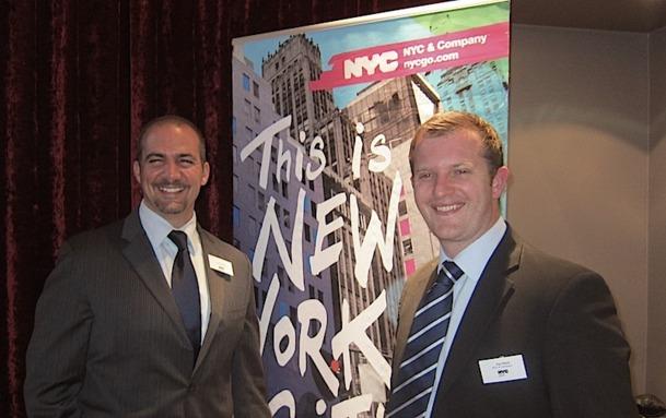 Paul Black, qui dirige les activités MICE en Europe accompagné de Jerry Cito, le 1er vice-président Convention Development, sont venus à Paris rencontrer les professionnels du tourisme MICE - DR : L-A.C.