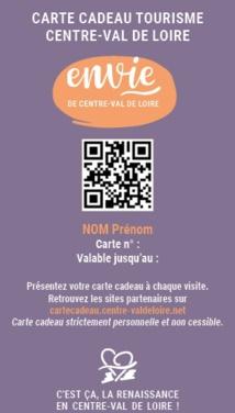 Le CRT vient de lancer une carte cadeau virtuelle pour les CE et les COS - DR : CRT Centre-Val de Loire