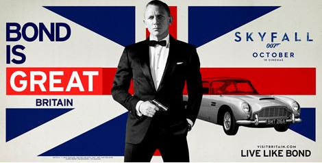 VisitBritain lance une campagne de promotion autour de James Bond / Photo DR