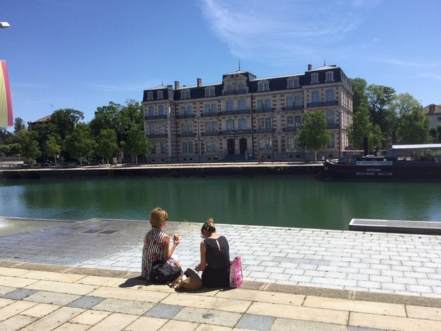 Les jardins du Mess, hôtel étoilé en bord de Meuse - DR : J.-P.C.