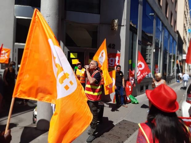 Passion des lles : mobilisation à Lyon des salariés de TUI France