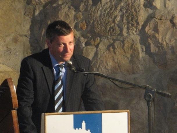 Stas Mislejnikov est le ministre du tourisme en Israël - Photo : P.C.