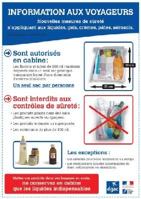 Transport liquides : restrictions drastiques dès le 6 novembre