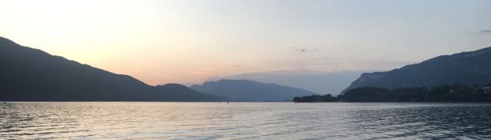 Bonheur sur le lac, Lac du Bourget - DR Coline Viard