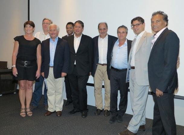 Pour la dernière fois, les rencontres 2012 ont respecté l'équilibre d'une co-présidence - Photo M.S.