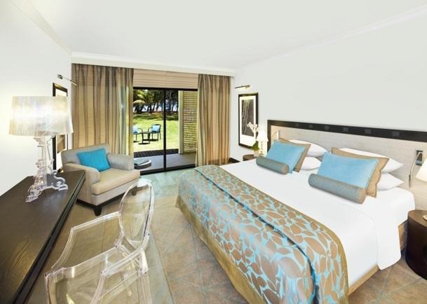 Les 164 chambres de l'hôtel sont lumineuses, fonctionnelles et confortables - Photo DR