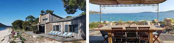 @ArnaudGrimaldi / Notre villa privilège Cala Rossa