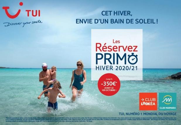"""""""Réservez Primo"""" s'étend jusqu'au 30 septembre 2020, avec jusqu'à 350 euros de réduction par destination - Crédit photo : TUI"""