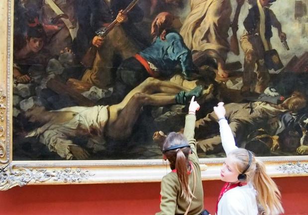 Art, patrimoine, Histoire, sciences... les visites s'adressent principalement à des enfants entre 6 et 12 ans - DR : Ludo & Sophie