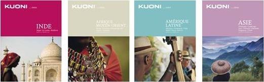 Les 4 nouvelles brochures de Kuoni sont valables pour 2 ans, 2013 et 2014 - DR