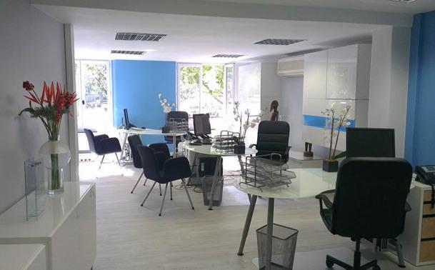 L'agence Saint Sulpice à Paris, a été entièrement rénovée dans un cadre très design - DR : Jancarthier