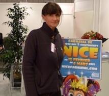 Isabelle Billet-Quéré de l'Office de Tourisme et des Congrès de la ville de Nice / Photo MS