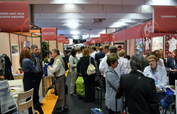 Les organisateurs annonçait déjà vendredi en milieu d'après midi une hausse de +20% du nombre de visiteurs étrangers. Photo CD
