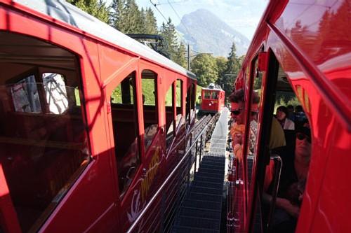 Suisse : Pilatus, le chemin de fer le plus raide du monde