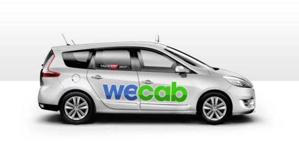 WeCab est un service de taxi partagé proposé par G7. DR