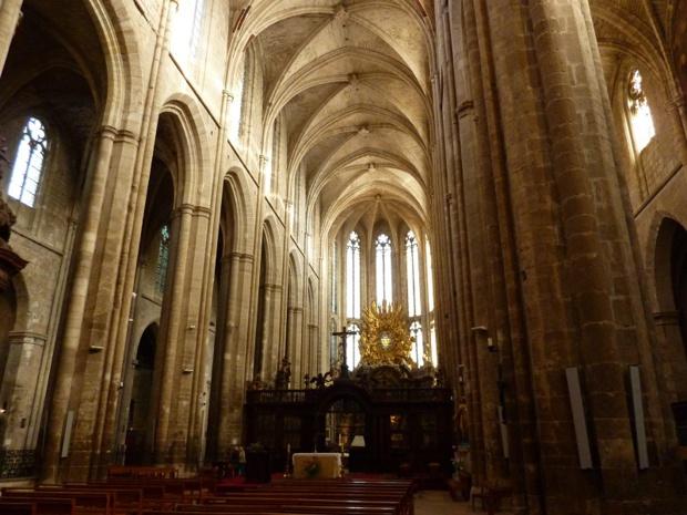 A l'intérieur de la basilique de Saint-Maximin - DR : Provence Verte et Verdon Tourisme