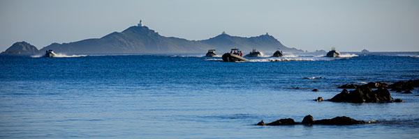 Semi-rigides aux Îles Sanguinaires, Ajaccio - DR Gilles Perez