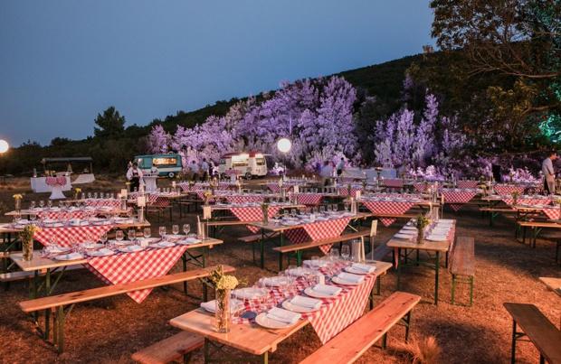 Une soirée de gala en plein maquis - DR : Corse Incentive, H&A - D. Lebrun