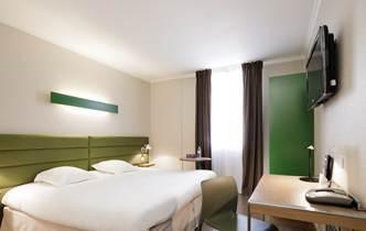 L'ibis Styles de Toulouse Matabiau compte 62 chambres décorées dans un style contemporaine et épuré - Photo DR