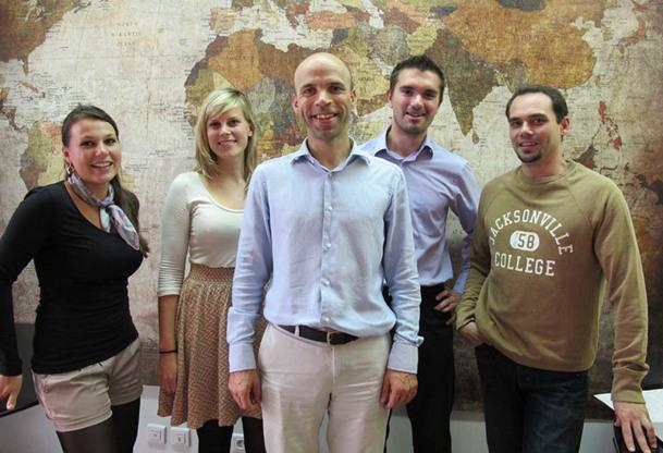 L'équipe de Destino Mundo est basée à Marseille depuis son lancement en mars 2012 - DR : A.B.