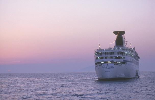 Le Princess Danae a de nouveau été saisi, à Marseille, le 23 octobre 2012, à la demande de l'APST - Photo NDS Voyages