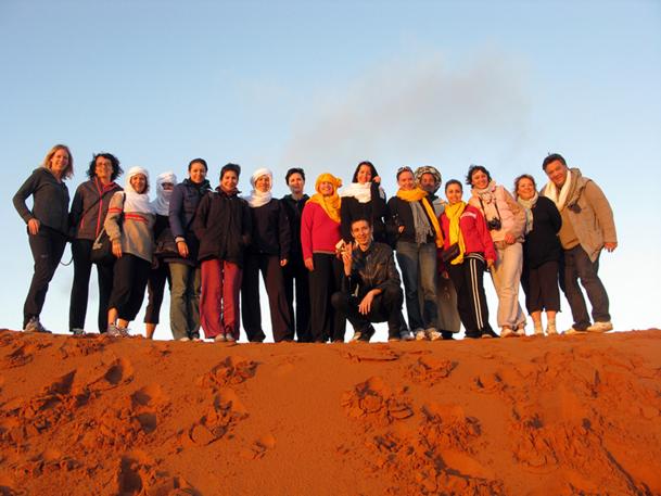 """les 11 agents de voyages d'AS Voyages partis avec Fram, du 18 au 22 octobre 2012, lors du """"Tour Academy"""" n'ont pas eu le temps de s'ennuyer - DR : AS Voyages"""