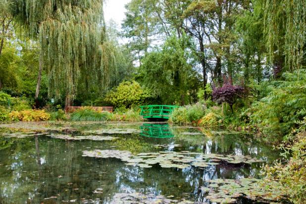 Jardin et étang de Monet /crédit DepositPhoto