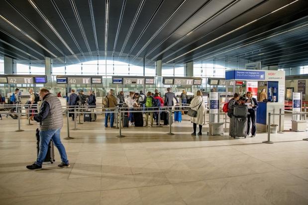 Le Hall B servira pour l'enregistrement des compagnies Air France, Chalair, EasyJet et KLM, mais aussi pour les arrivées de tous les vols nationaux - DR : SA ADBM/Agence Mediacrossing