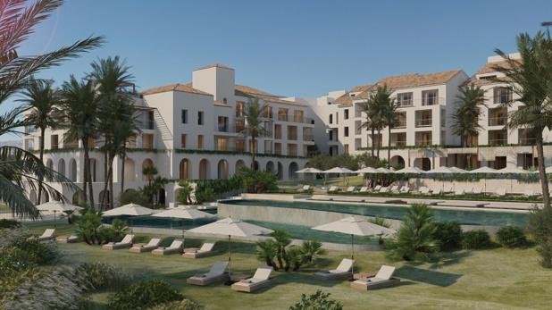 L'hôtel est connu comme un refuge pour les jet-setters et les membres de la famille royale - DR : Esteva Arquitectura S.L.P