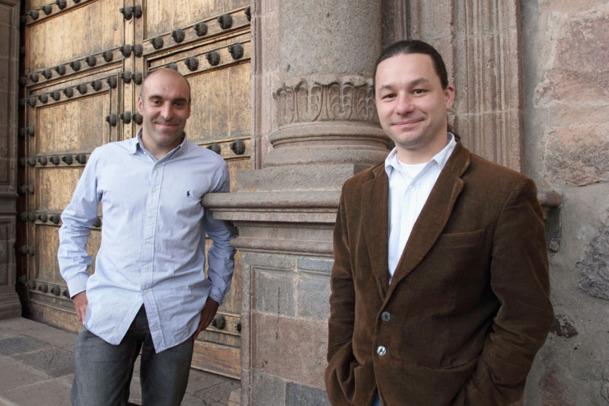 Thierry CAMPREDON et Olivier FARRÉ fondateur d'Antipode travel - DR