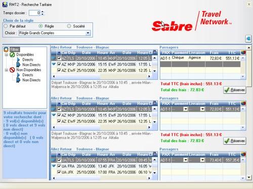 Gestion de frais de service : Sabre lance RMT v2.0