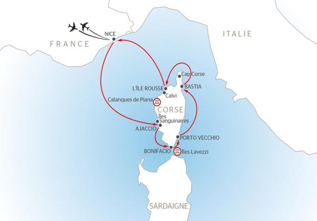 """J'ai testé pour vous le """"Grand Tour de Corse"""" de CroisiEurope, sur MV La Belle des Océans"""