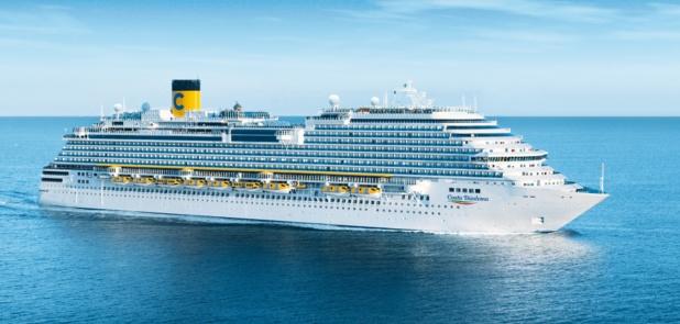 Costa Diadema, effectuera des croisières de 7 jours en Méditerranée occidentale au départ de Gênes /crédit CC