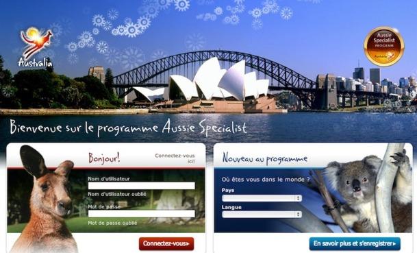 Le programme Aussie Specialis permet de tenter sa chance pour participer à un éductour en mai prochain - DR