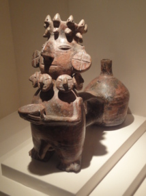 Musée Larco Herrera, vase anthropomorphe Vicus - photo DR