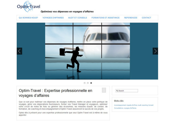 Optim Travel s'adresse aux agences de voyages, en particulier indépendantes, qui sont à la recherche d'orientations, d'outils ou de coaching sur le voyage d'affaires - DR