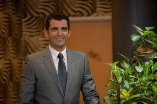 Stuart De San Nicolas Directeur du Dinarobin Hotel Golf & Spa à l'île Maurice  - Photo DR