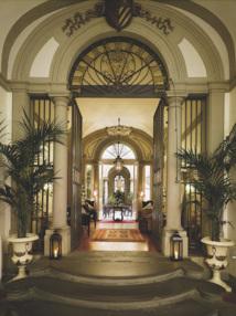 L'hôtel Santa Croce à Florence est un palais florentin du XVIIIe siècle - DR : Safrans du Monde
