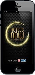 L'application Hotels Now de HRS est disponible sur iPhone - DR