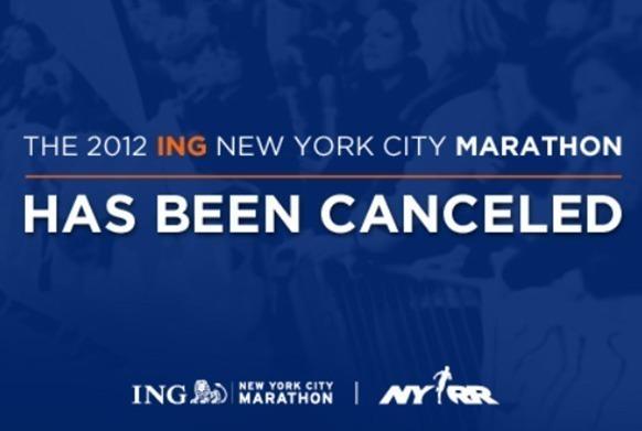 Dans son dernier mail, la NYRR explique clairement que les riverains ont menacé de s'en prendre aux coureurs et d'empêcher le marathon.