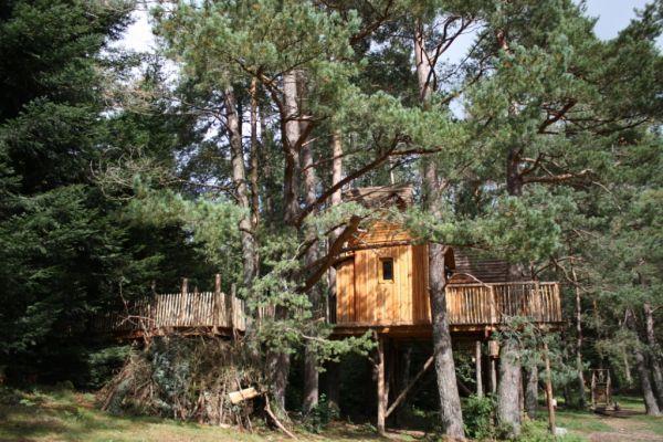 Le Nids des Vosges, un exemple d'hébergement insolite proposé par les gîtes de France. DR