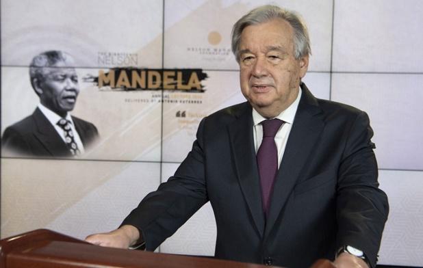 """António Guterres, le secrétaire général de l'ONU, appelle à """"reconstruire le secteur du tourisme et de veiller à ce que le tourisme retrouve sa position de pourvoyeur d'emplois décents..."""" - Crédit photo : ONU"""