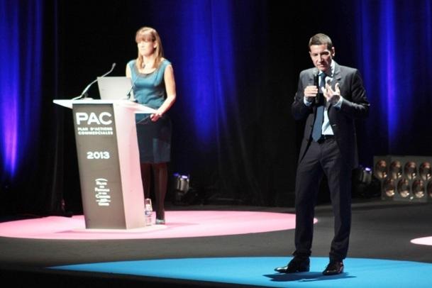 David Lisnard, président du Palais des Festivals dévoilent la stratégie touristique de Cannes pour 2013 - Photo M.B.