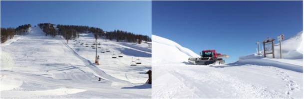 Pendant 2 week-ends consécutif, la neige est tombée sur la station de Montgenèvre dans les Hautes-Alpes - Photo DR