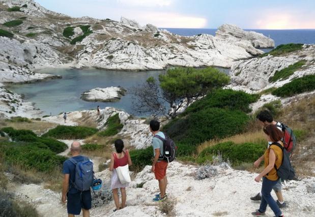 So Provence, So Alps ! est spécialiste de la création de séjours sur-mesure en itinérance dans le Sud-Est de la France. Ici, l'archipel du Frioul à Marseille - DR : Simon Hardy